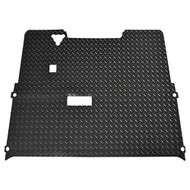 Golf Cart Diamond Plate Rubber Floor Mat, EZGO TXT 94-01.5