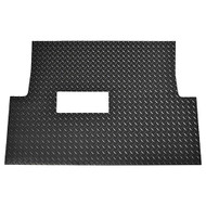 Golf Cart Diamond Plate Rubber Floor Mat, Club Car Tempo, Onward, Precedent
