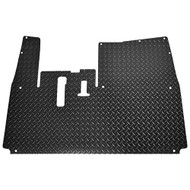 Golf Cart Diamond Plate Rubber Floor Mat, Yamaha Drive2