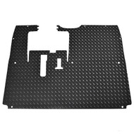 Golf Cart Diamond Plate Rubber Floor Mat, Yamaha Drive