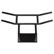 Golf Cart Front Brush Guard, Yamaha Drive2, Black Powder Coat Steel