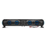 Sound Extreme Soundbar, 500 Watts with Eight Speakers, Dual Woofers and RGB Lights