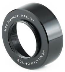 William Optics M80 to M54 x 0.75 Flattener adapter (Flat68III, Flat7A)