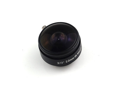 "1.55mm f/2.0 fish eye CS lens for 1/2"" sensor"
