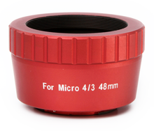 William Optics Micro 4/3 48mm T-mount for Olympus (Red)