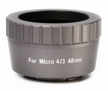 William Optics Micro 4/3 48mm T-mount for Olympus (Space Grey)
