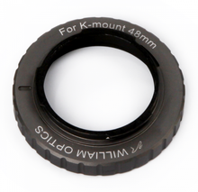 William Optics 48mm T-mount for Pentax K (Space Gray)