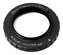 William Optics 48mm T-mount for Nikon (Black)