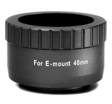 William Optics 48mm T-mount for Sony E-Mount (Black)