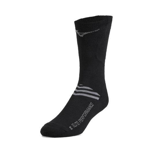 Mizuno Runbird Crew Sock - Black