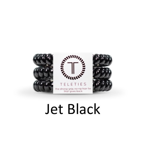Teleties-Small- Jet Black