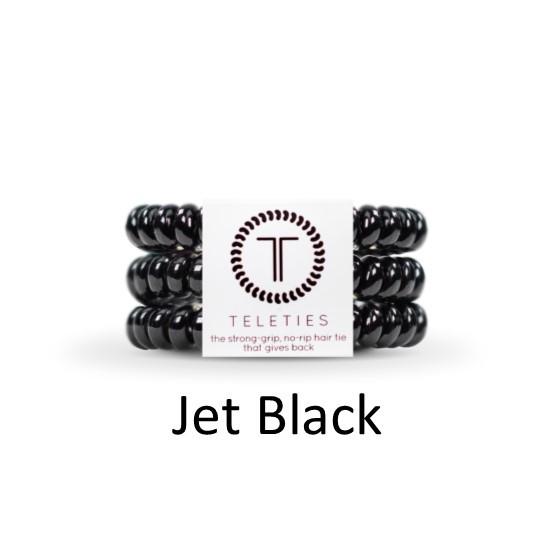 Teleties-Large- Jet Black