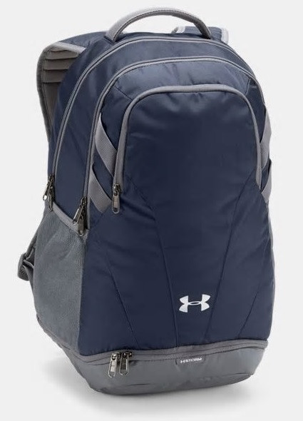 Under Armour Hustle 3.0 Backpack- Navy
