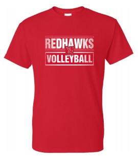 Redhawks Gildan SS-Red