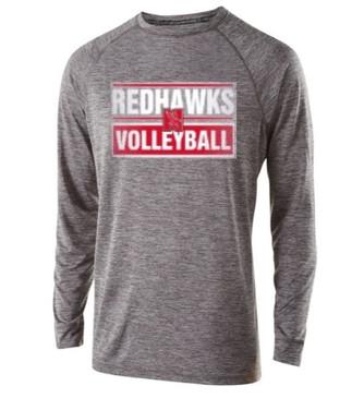 Redhawks Holloway LS-Grey