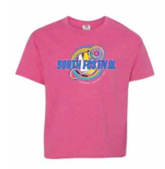 2019 Youth Festival T-Shirt- Front