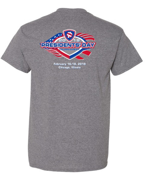2019 Presidents' Day T-Shirt- Back