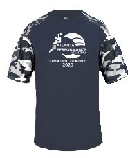 Atlanta Performance Camo- Navy