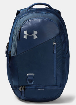 Under Armour Hustle 4.0 Backpack- Navy