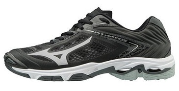 Mizuno Men's Wave Lightning Z5- Black/Silver