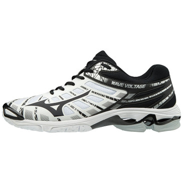 Mizuno Men's Wave Voltage- White/Black