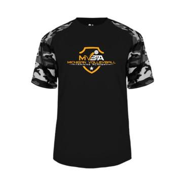 MVBTA Camo SS Shirt- Black