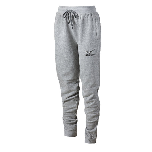 Mizuno Women's Jogger Pant- Heathered Light Grey