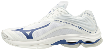 Mizuno Women's Wave Lightning Z6- White/Navy