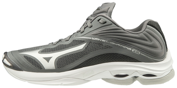 Mizuno Men's Wave Lightning Z6- Grey