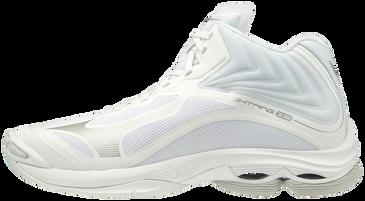 Mizuno Women's Wave Lightning Z6- MID- White