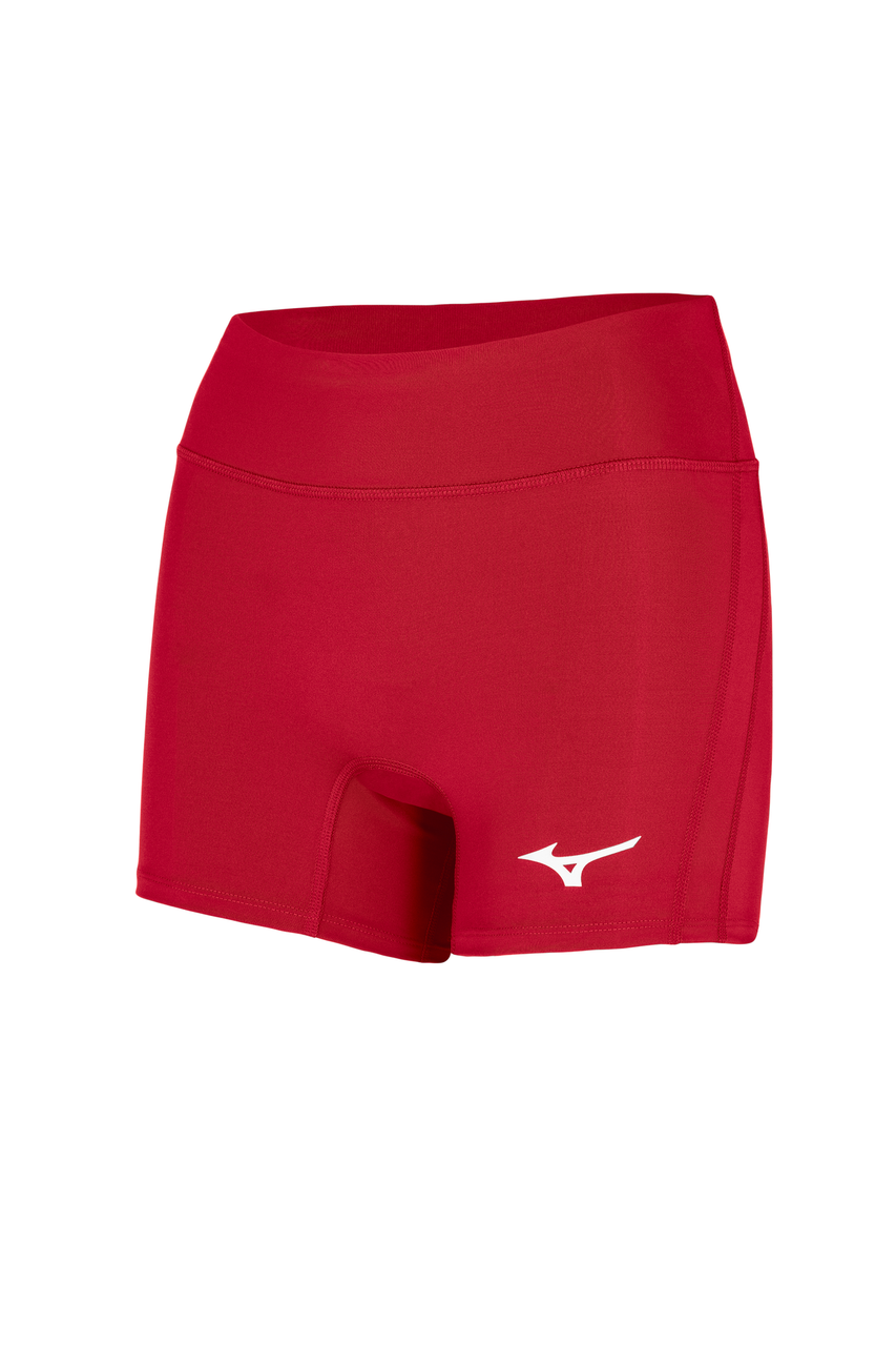 Mizuno Women's Elevated Short- Red