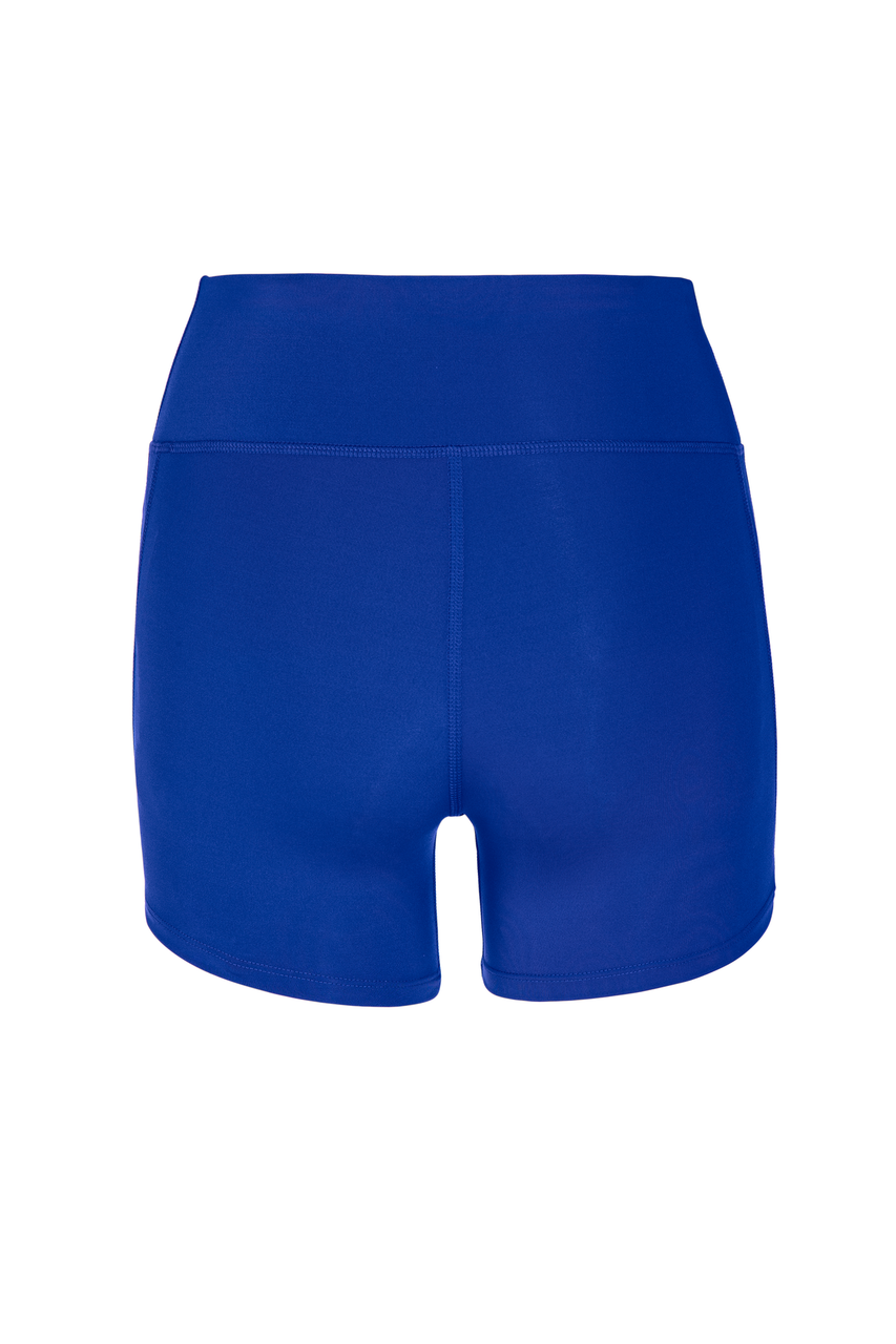Mizuno Women's Elevated Short- Royal Back
