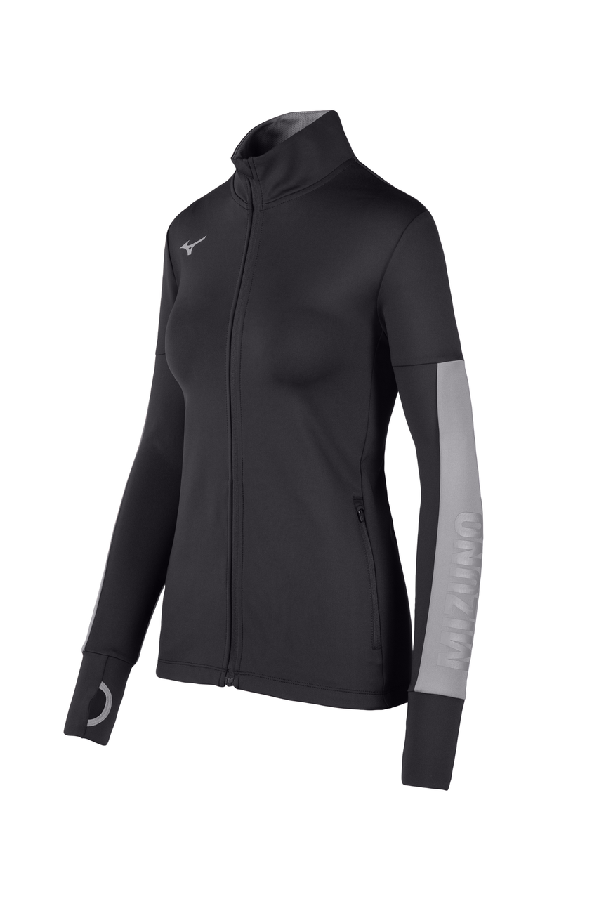 Mizuno Women's Alpha Quest Jacket- Black