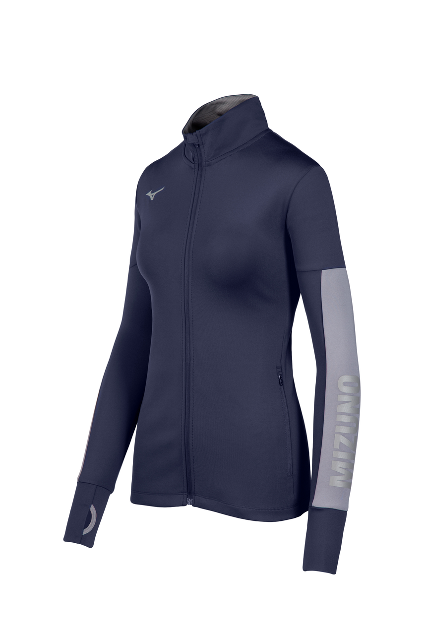 Mizuno Women's Alpha Quest Jacket- Navy