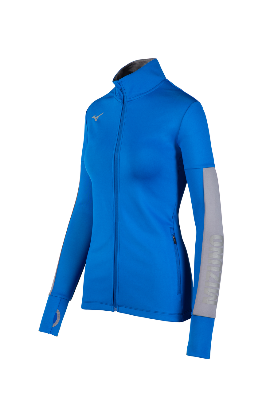 Mizuno Women's Alpha Quest Jacket- Royal