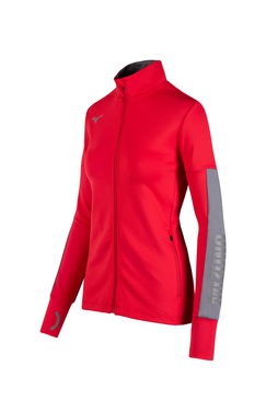 Mizuno Women's Alpha Quest Jacket- Red