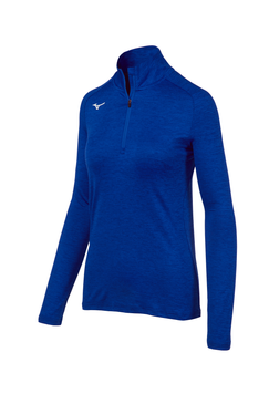 Mizuno Women's Alpha 1/2 Zip- Royal