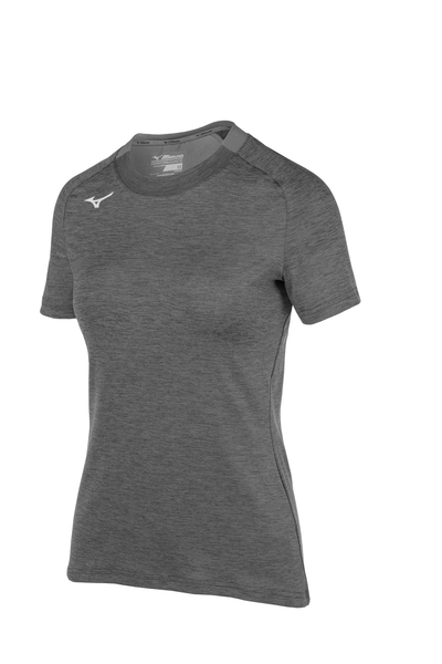 Mizuno Women's Alpha Short Sleeve- Black