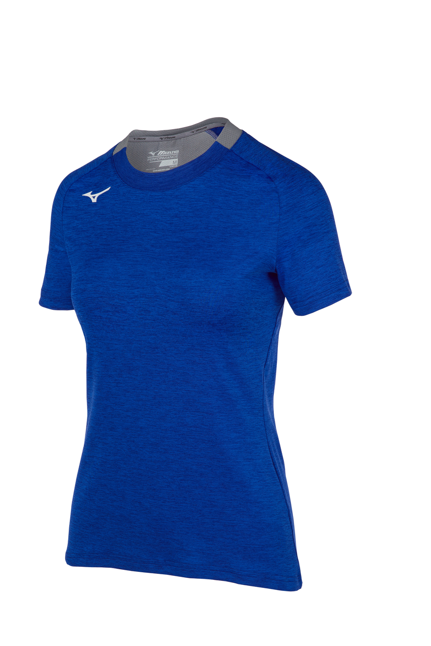 Mizuno Women's Alpha Short Sleeve- Royal