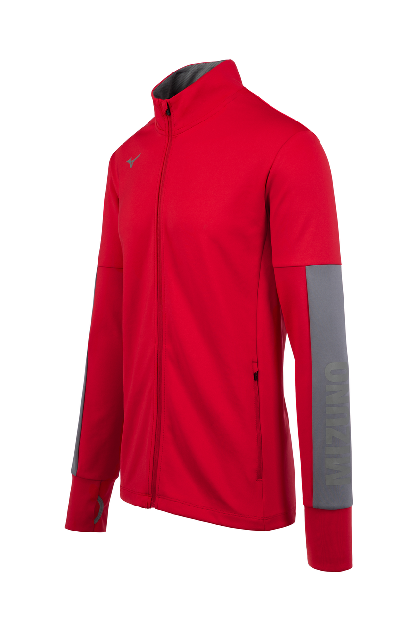 Mizuno Men's Alpha Quest Jacket- Red