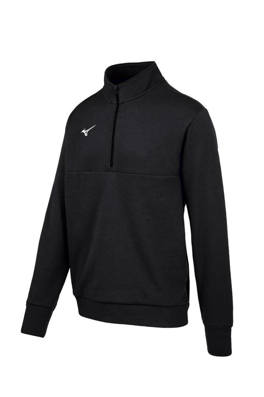 Mizuno  MZ1 1/4 Zip Fleece Pullover- Black