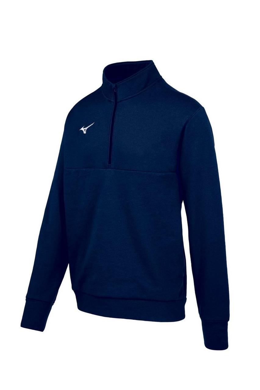 Mizuno  MZ1 1/4 Zip Fleece Pullover- Navy