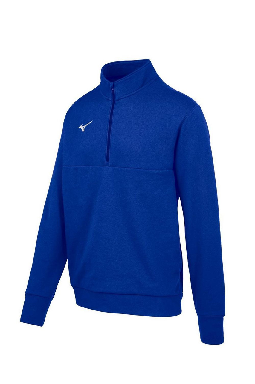 Mizuno  MZ1 1/4 Zip Fleece Pullover- Royal