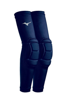 Mizuno Padded Elbow Sleeves- Navy