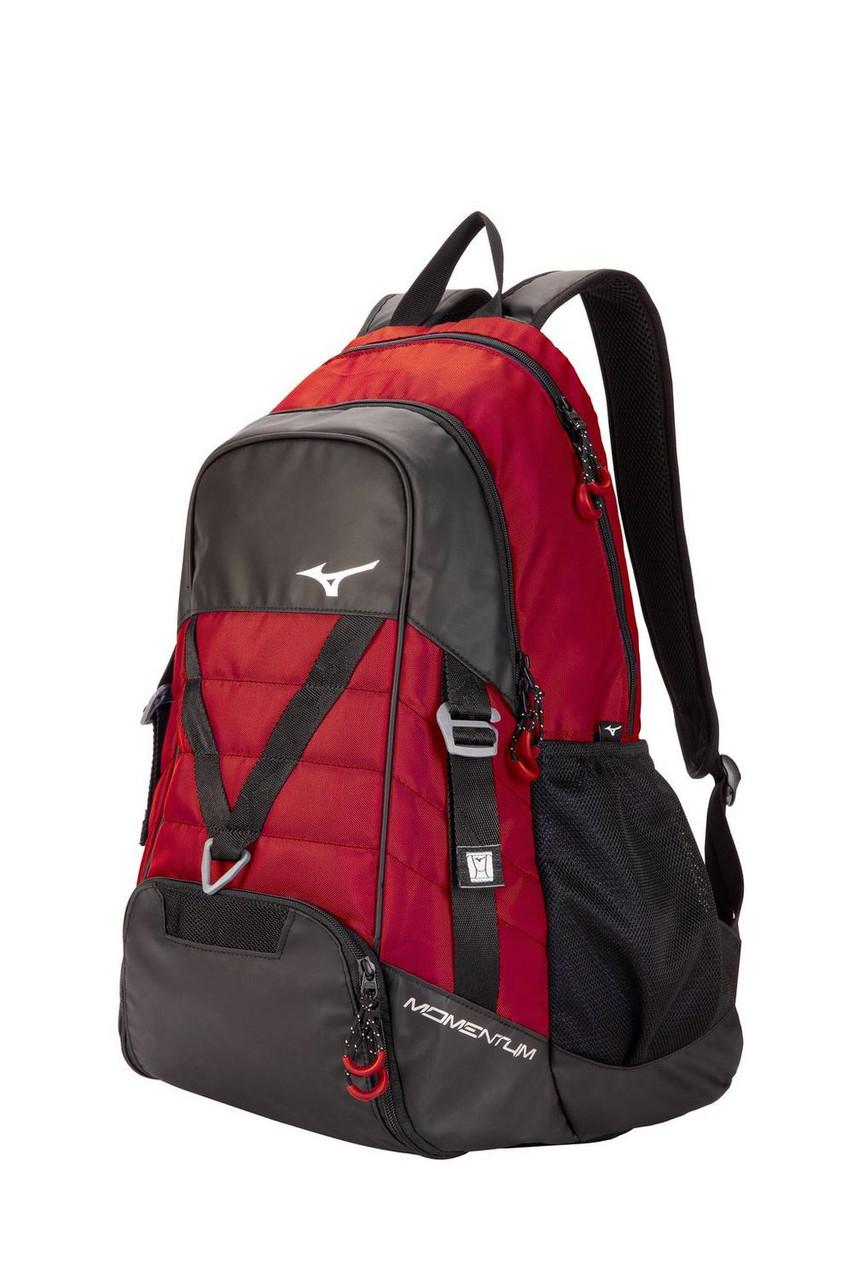 Mizuno Momentum Backpack- Red