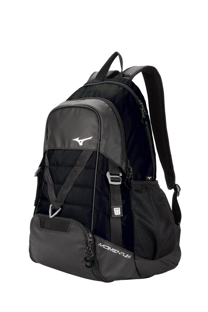 Mizuno Momentum Backpack- Black