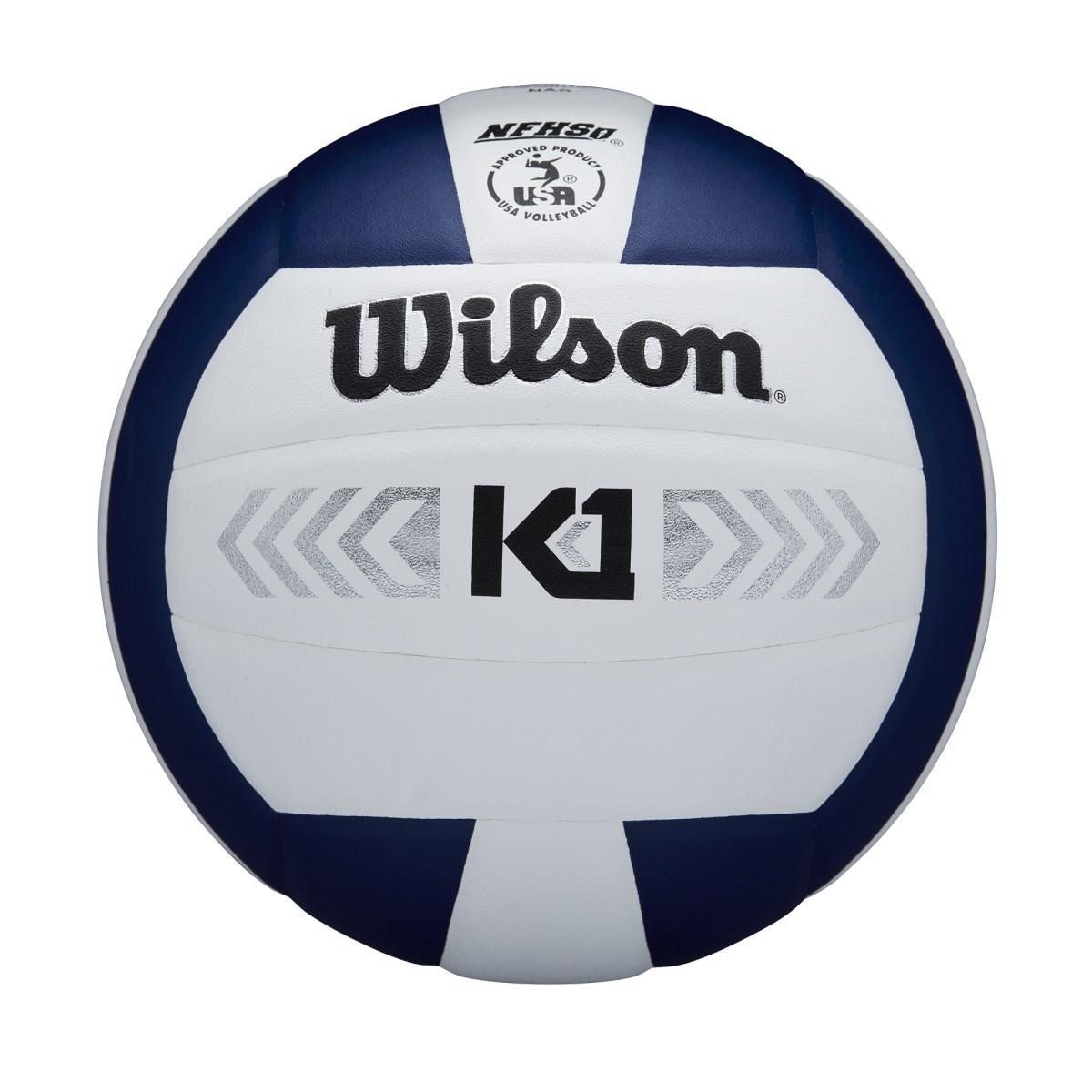 Wilson K1 Silver- Navy/White