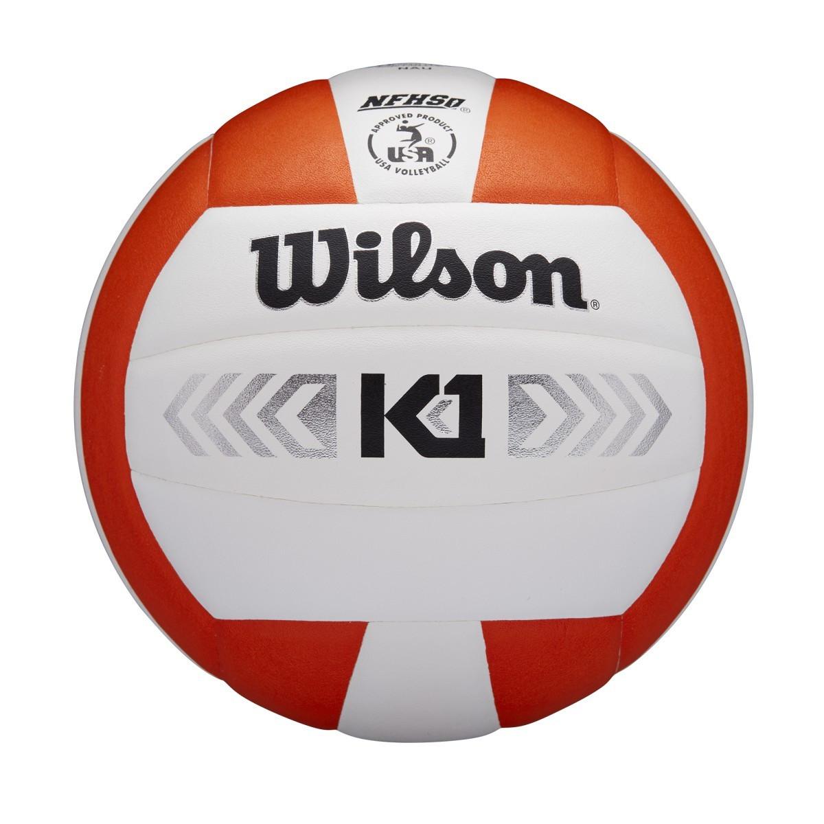 Wilson K1 Silver- Orange/White