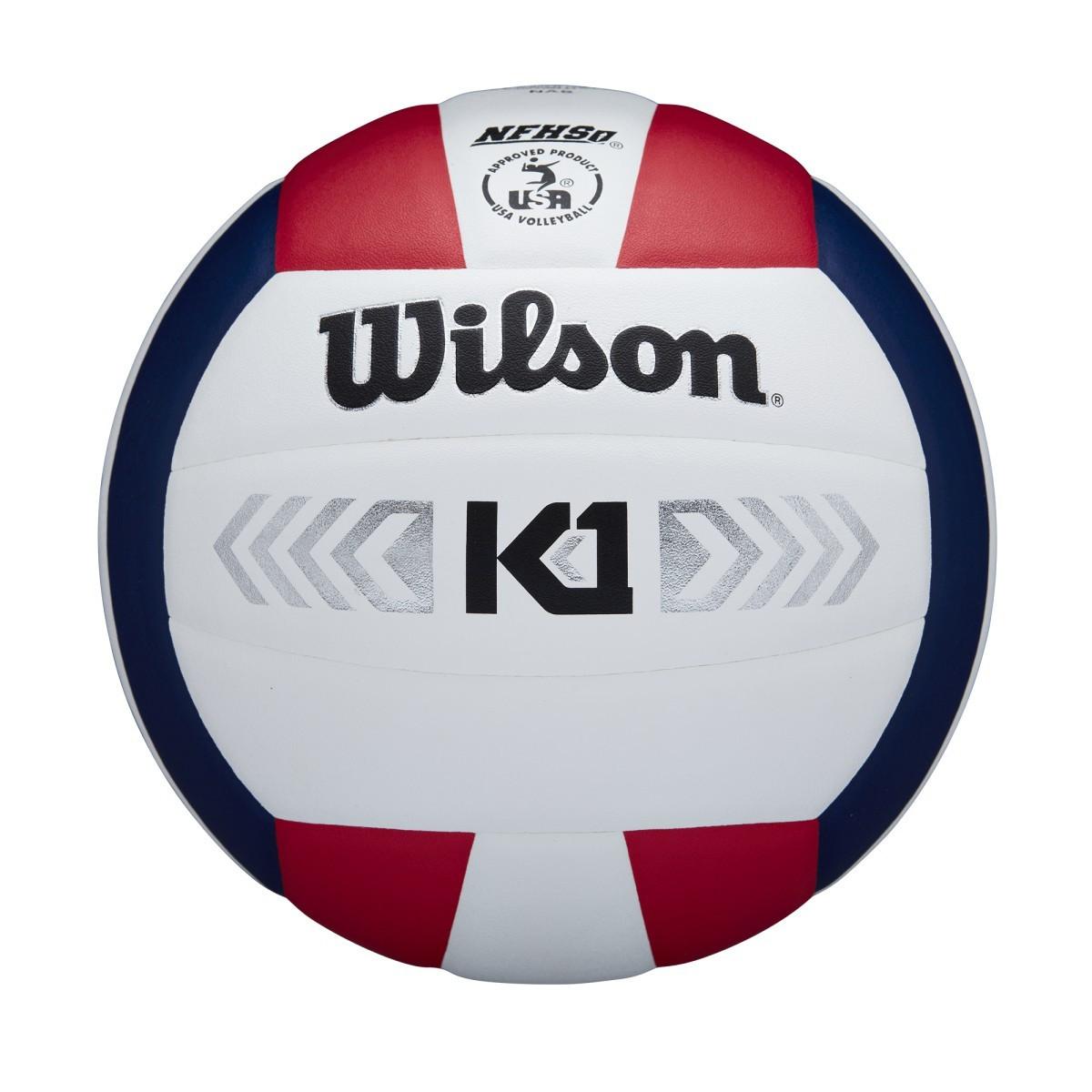 Wilson K1 Silver- Red/White/Blue