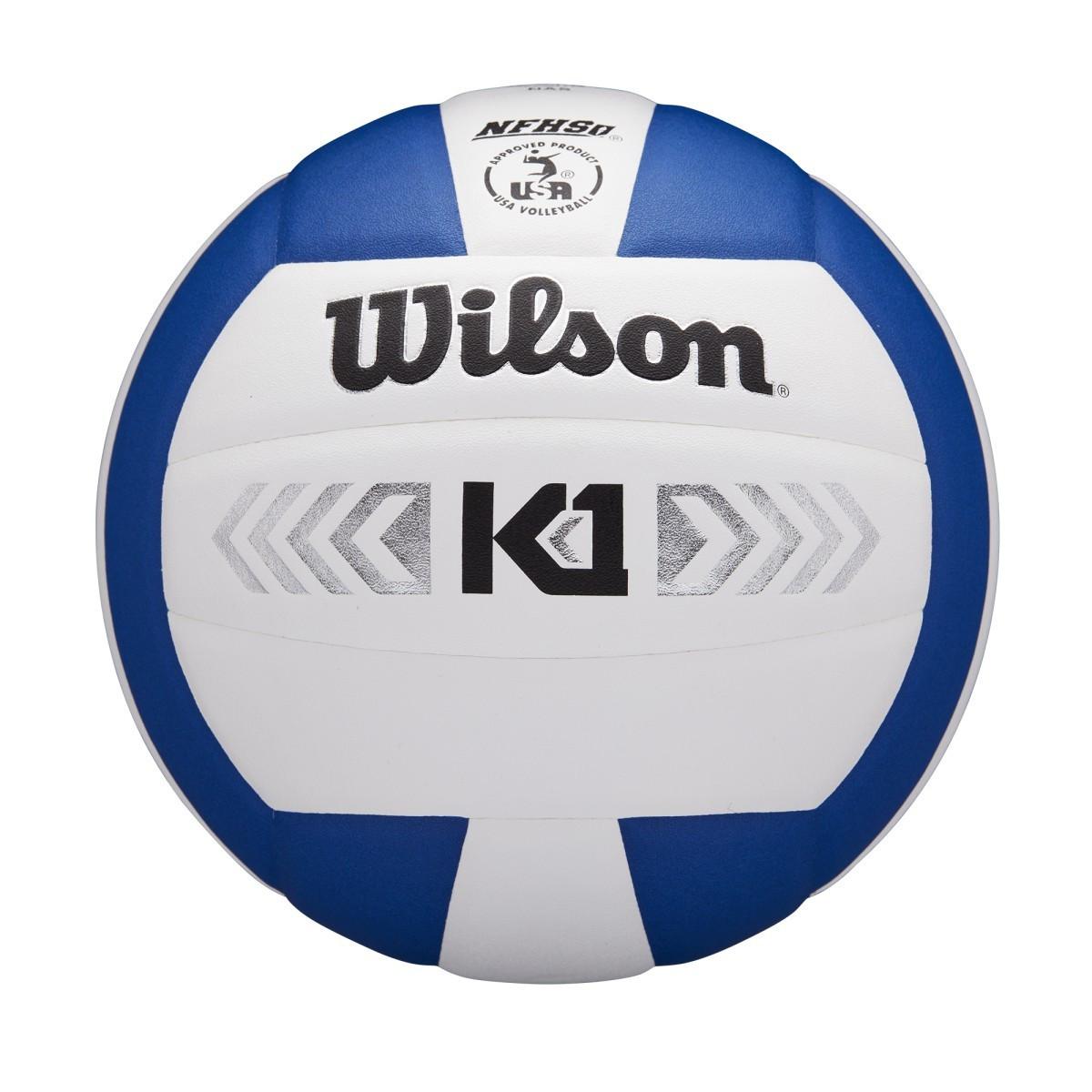 Wilson K1 Silver- Royal/White